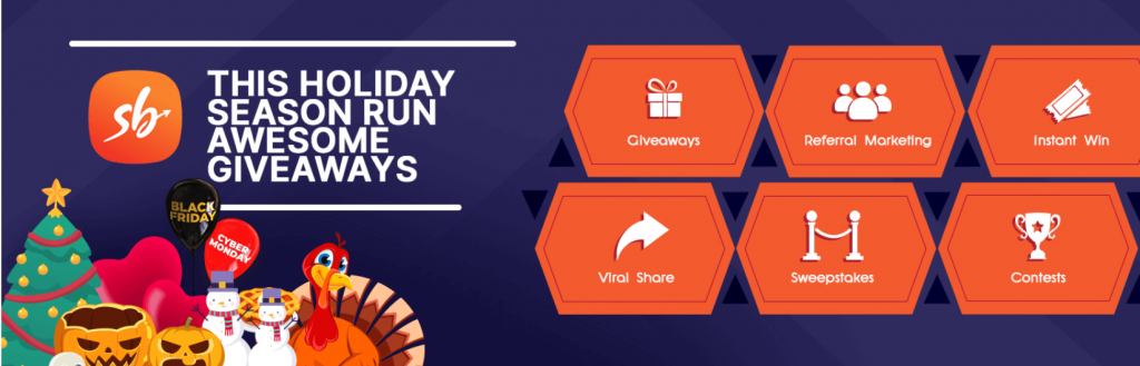 The banner for the Social Boost giveaway plugin.