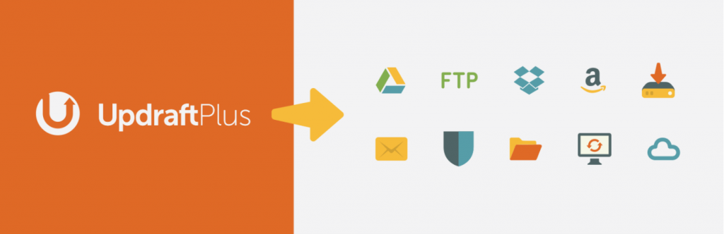 The plugin banner for UpdraftPlus.