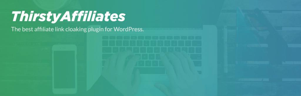 The ThirstyAffiliates affiliate marketing plugin for WordPress.