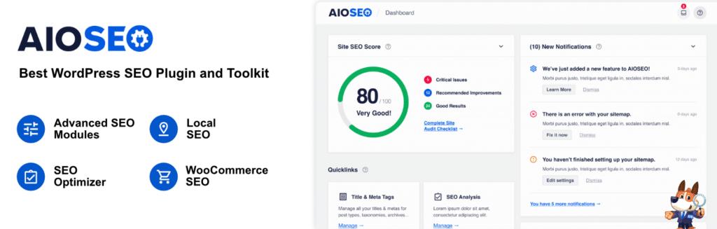 The AIOSEO WordPress plugin.