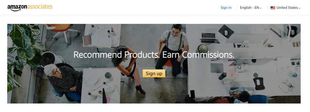 The Amazon affiliates program.