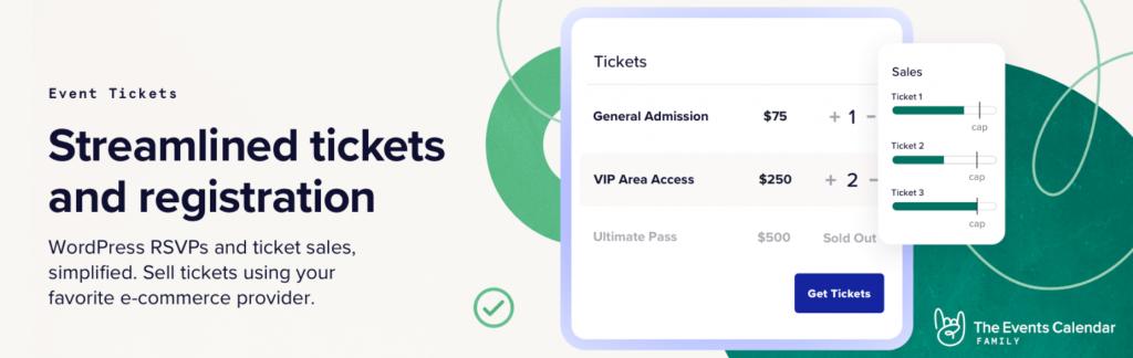 The Event Tickets WordPress plugin.