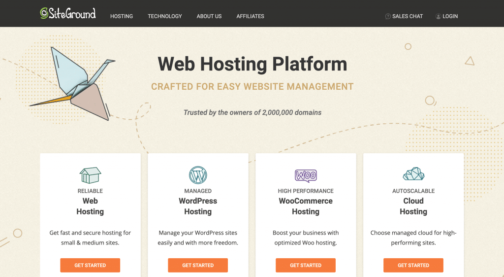 SiteGround hosting for beginners.