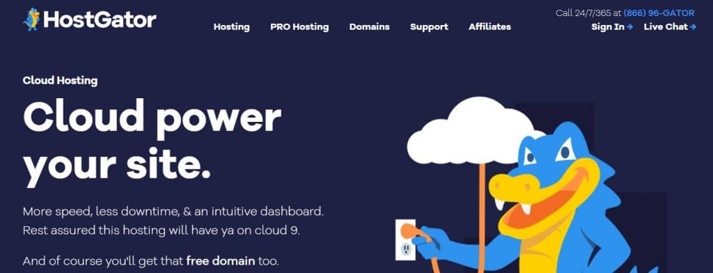 Cloud hosting is one of the most efficient types of web hosting, designed for websites that get large volumes of traffic.