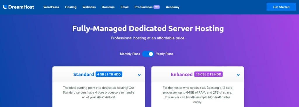 Dedicated server hosting gives you full access to your own server.