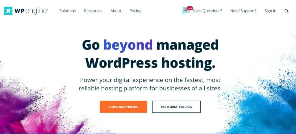 Managed WordPress hosting is the ideal solution for busy website owners who want to receive full technical support.