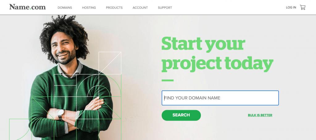The Name.com service.
