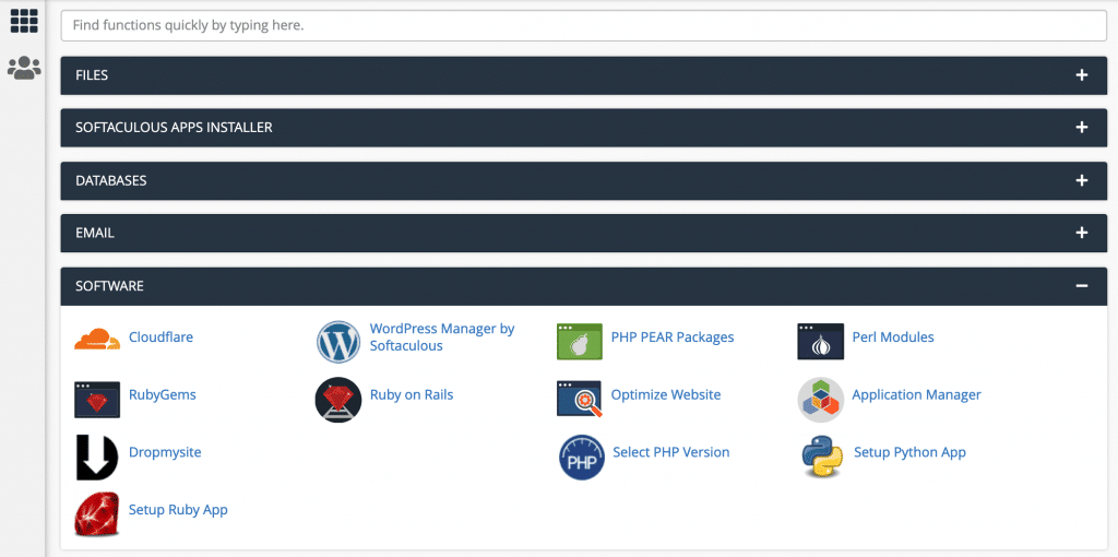 You can check the version of PHP in the cPanel dashboard.