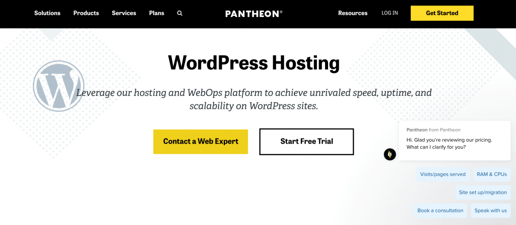 Pantheon is an example of a provider that caters to high-traffic sites.